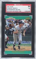 Mickey Mantle /2000 [SGC 84]
