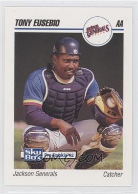 1992 SkyBox Pre-Rookie - Jackson Generals #331 - Tony Eusebio