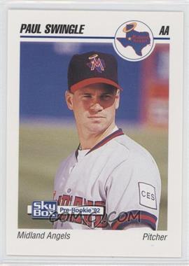 1992 SkyBox Pre-Rookie - Midland Angels #471 - Paul Swingle
