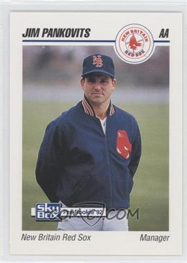 1992 SkyBox Pre-Rookie - New Britain Red Sox #499 - Jim Pankovits