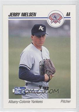 1992 SkyBox Pre-Rookie Albany-Colonie Yankees #14 - Jerry Nielsen