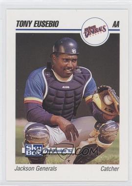 1992 SkyBox Pre-Rookie Jackson Generals #331 - Tony Eusebio