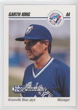 1992 SkyBox Pre-Rookie Knoxville Blue Jays #399 - Garth Iorg