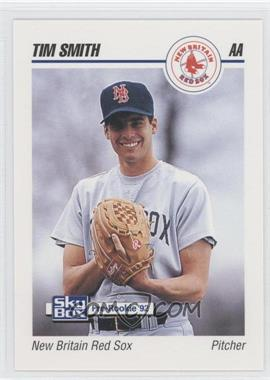 1992 SkyBox Pre-Rookie New Britain Red Sox #496 - Tim Smith