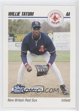 1992 SkyBox Pre-Rookie New Britain Red Sox #497 - Willie Tatum