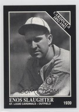 1992 The Sporting News Conlon Collection #642 - Enos Slaughter