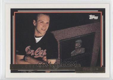 1992 Topps - [Base] - Gold #40 - Cal Ripken Jr.