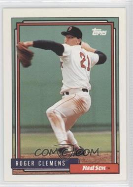 1992 Topps - [Base] #150 - Roger Clemens