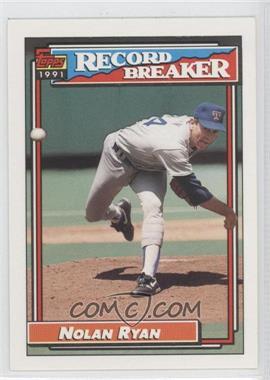 1992 Topps - [Base] #4 - Nolan Ryan