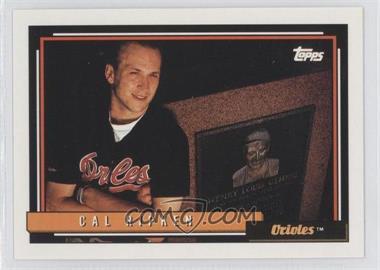 1992 Topps - [Base] #40 - Cal Ripken Jr.