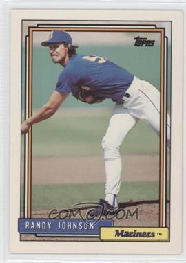 1992 Topps - [Base] #525 - Randy Johnson