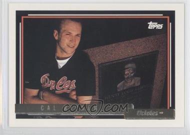 1992 Topps Gold #40 - Cal Ripken Jr.