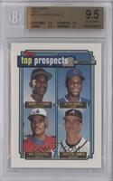 Manny Alexander, Alex Arias, Wil Cordero, Chipper Jones [BGS 9.5]