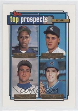 1992 Topps Gold #676 - [Missing]