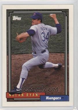 1992 Topps #1 - Nolan Ryan