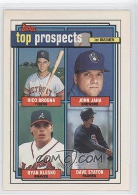 1992 Topps #126 - [Missing]
