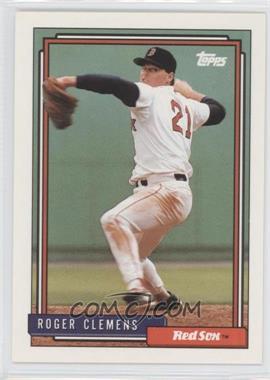 1992 Topps #150 - Roger Clemens