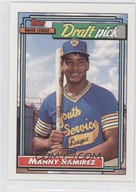 1992 Topps #156 - Manny Ramirez