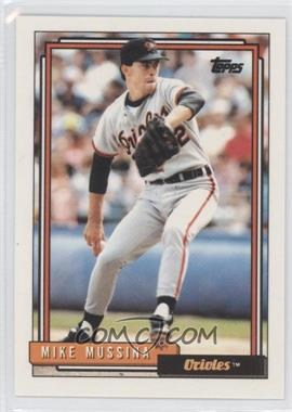 1992 Topps #242 - Mike Mussina