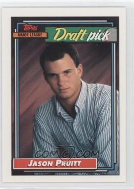 1992 Topps #246 - Jason Pruitt