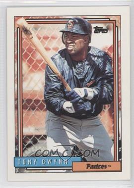 1992 Topps #270 - Tony Gwynn