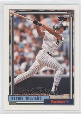 1992 Topps #374 - Bernie Williams