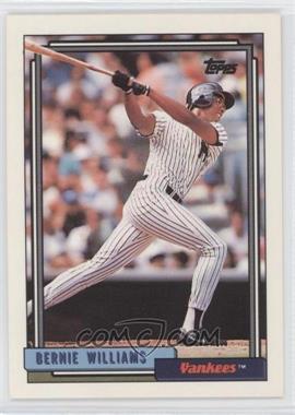 1992 Topps #374 - Bernie Williams
