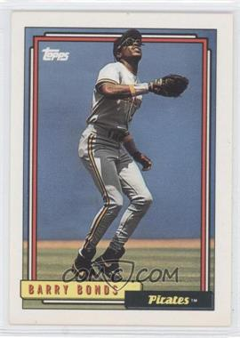 1992 Topps #380 - Barry Bonds