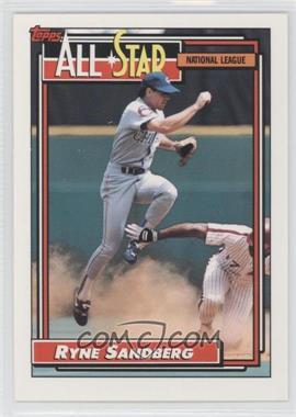 1992 Topps #387 - Ryne Sandberg
