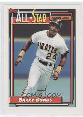 1992 Topps #390 - Barry Bonds