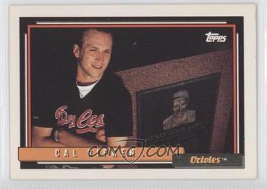 1992 Topps #40 - Cal Ripken Jr.