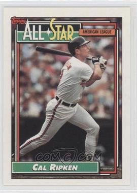 1992 Topps #400 - Cal Ripken Jr.