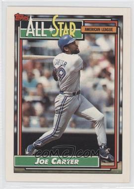 1992 Topps #402 - Joe Carter