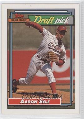 1992 Topps #504 - Aaron Sele