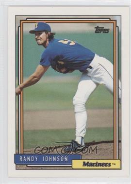 1992 Topps #525 - Randy Johnson