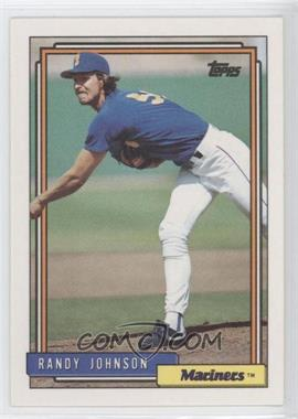1992 Topps #525 - Randy Johnson