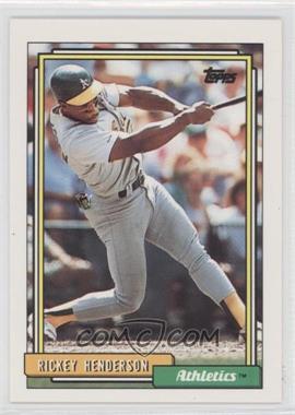 1992 Topps #560 - Rickey Henderson