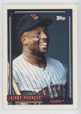1992 Topps #575 - Kirby Puckett