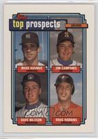 Brad Ausmus, Jim Campanis, Dave Nilsson, Doug Robbins