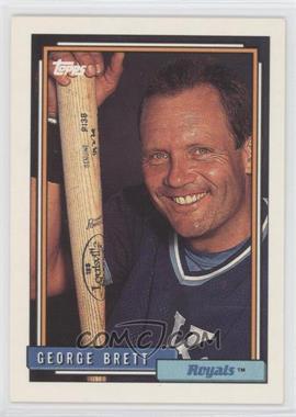 1992 Topps #620 - George Brett