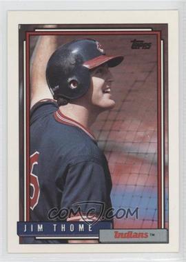 1992 Topps #768 - Jim Thome