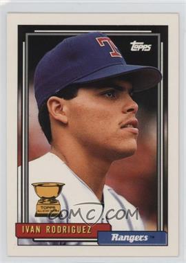 1992 Topps #78 - Ivan Rodriguez