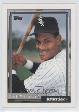 1992 Topps #94 - Sammy Sosa