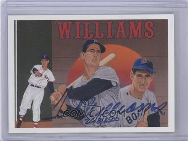 1992 Upper Deck Baseball Heroes Ted Williams #36.2 - Ted Williams (Autograph) /2500