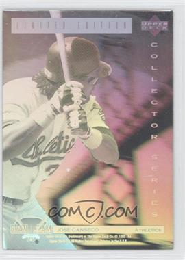 1992 Upper Deck Denny's Grand Slam #22 - Jose Canseco
