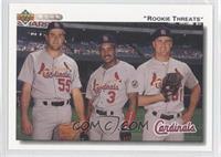 Mark Clark, Brian Jordan, Donovan Osborne