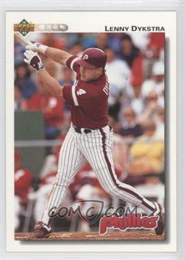 1992 Upper Deck #246 - Lenny Dykstra - Courtesy of COMC.com
