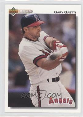 1992 Upper Deck #321 - Gary Gaetti
