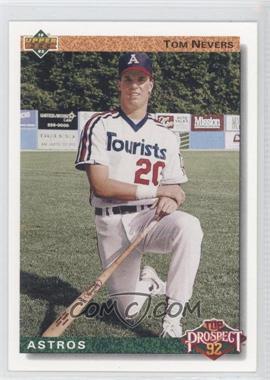 1992 Upper Deck #53 - Top Prospect - Tom Nevers
