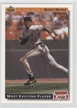 1992 Upper Deck #721 - Barry Bonds